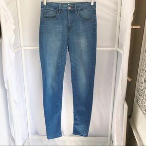 Garage Jeans Retro High Waist Skinny Jegging Sz 3